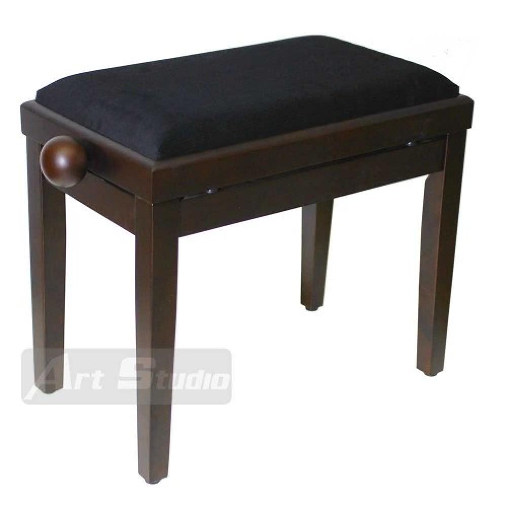 כסא לפסנתר, חום כהה מט