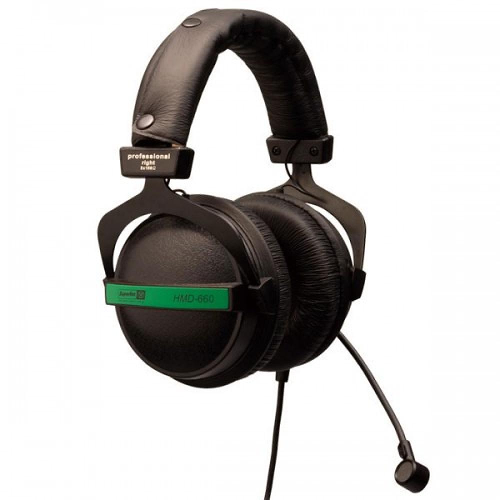 אוזניות סגורות עם מיקרופון