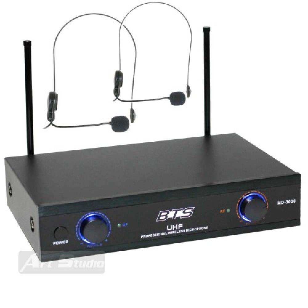 זוג מיקרופונים מדונה UHF