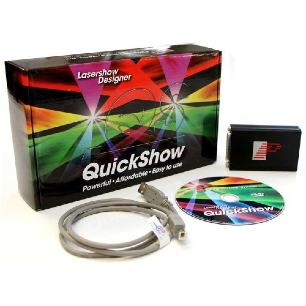 תוכנת לייזר QUICK SHOW