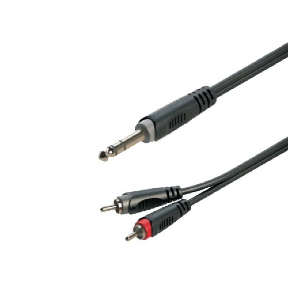 כבל PL 6.3 - RCAX2 אורך 3מ.