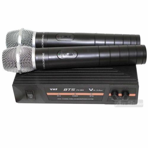 זוג מיקרופונים אלחוטיים VHF