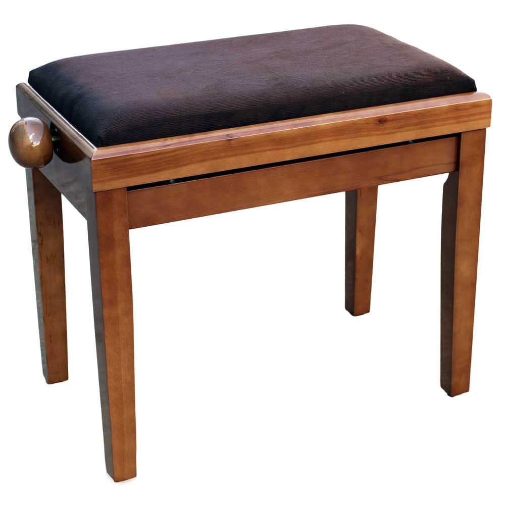 כסא לפסנתר,אגוז(חום בהיר)
