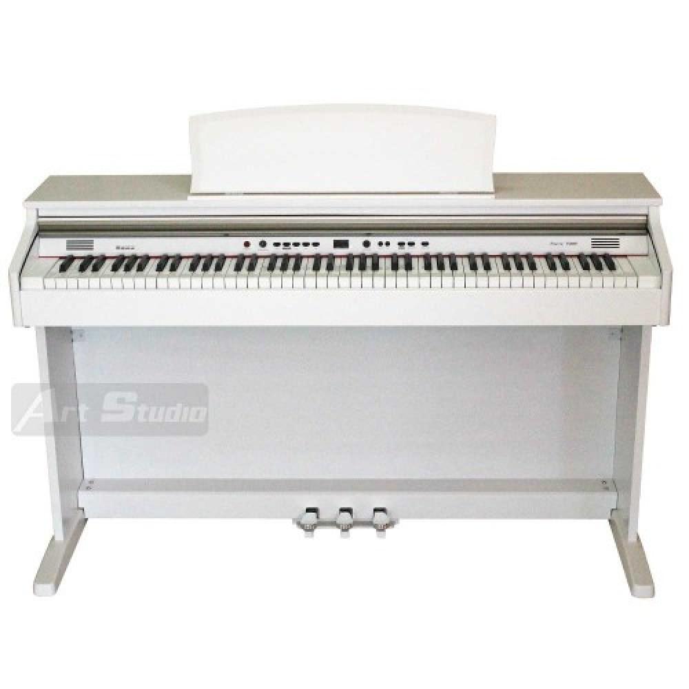 פסנתר חשמלי מזרחי לבן Ringway TG200WT
