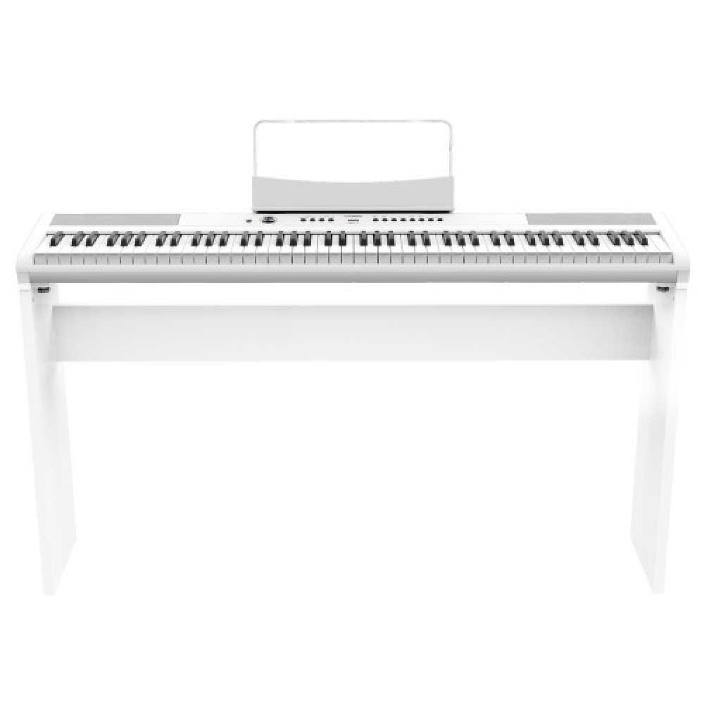 פסנתר חשמלי נייד ARTESIA AM-1 WHT