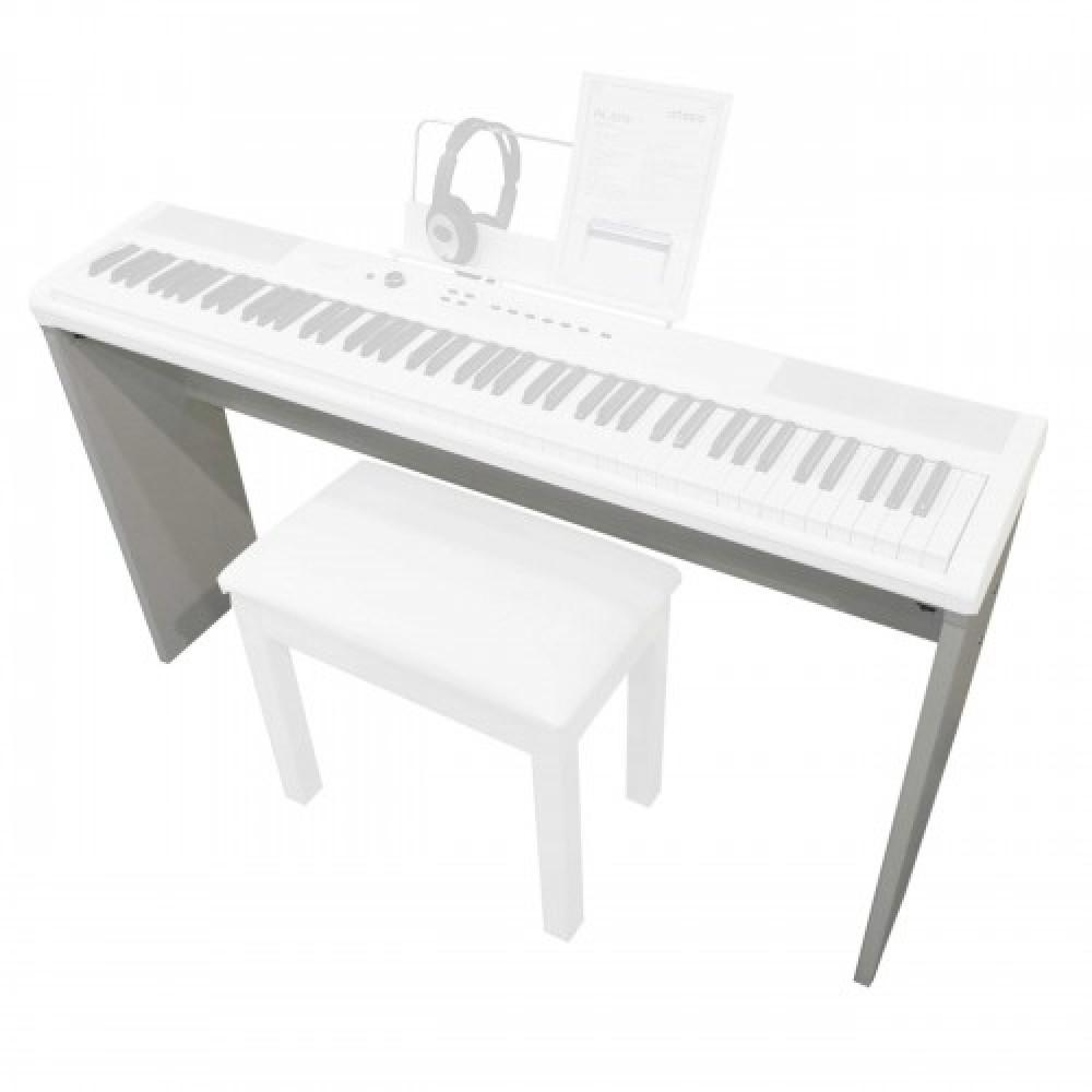 סטנד עץ לפסנתר לבן