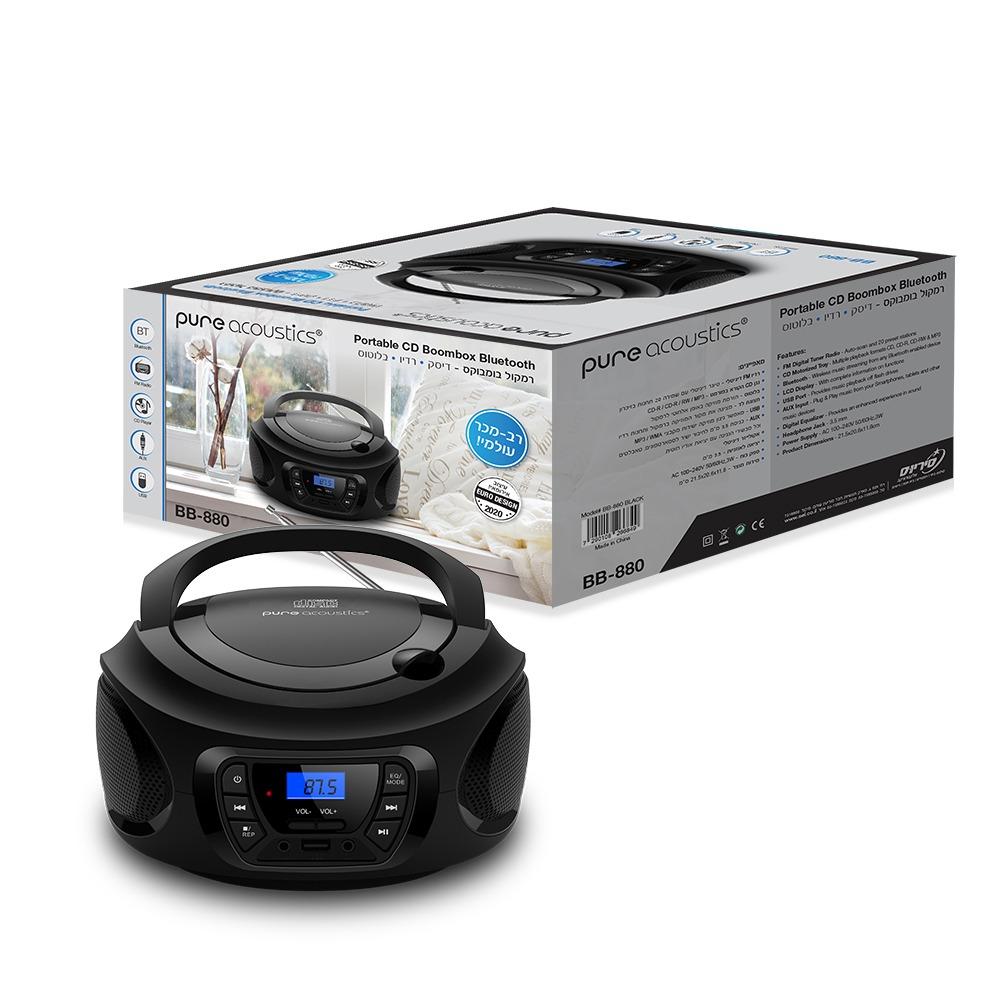 רדיו דיסק Pure Acoustics BB-880