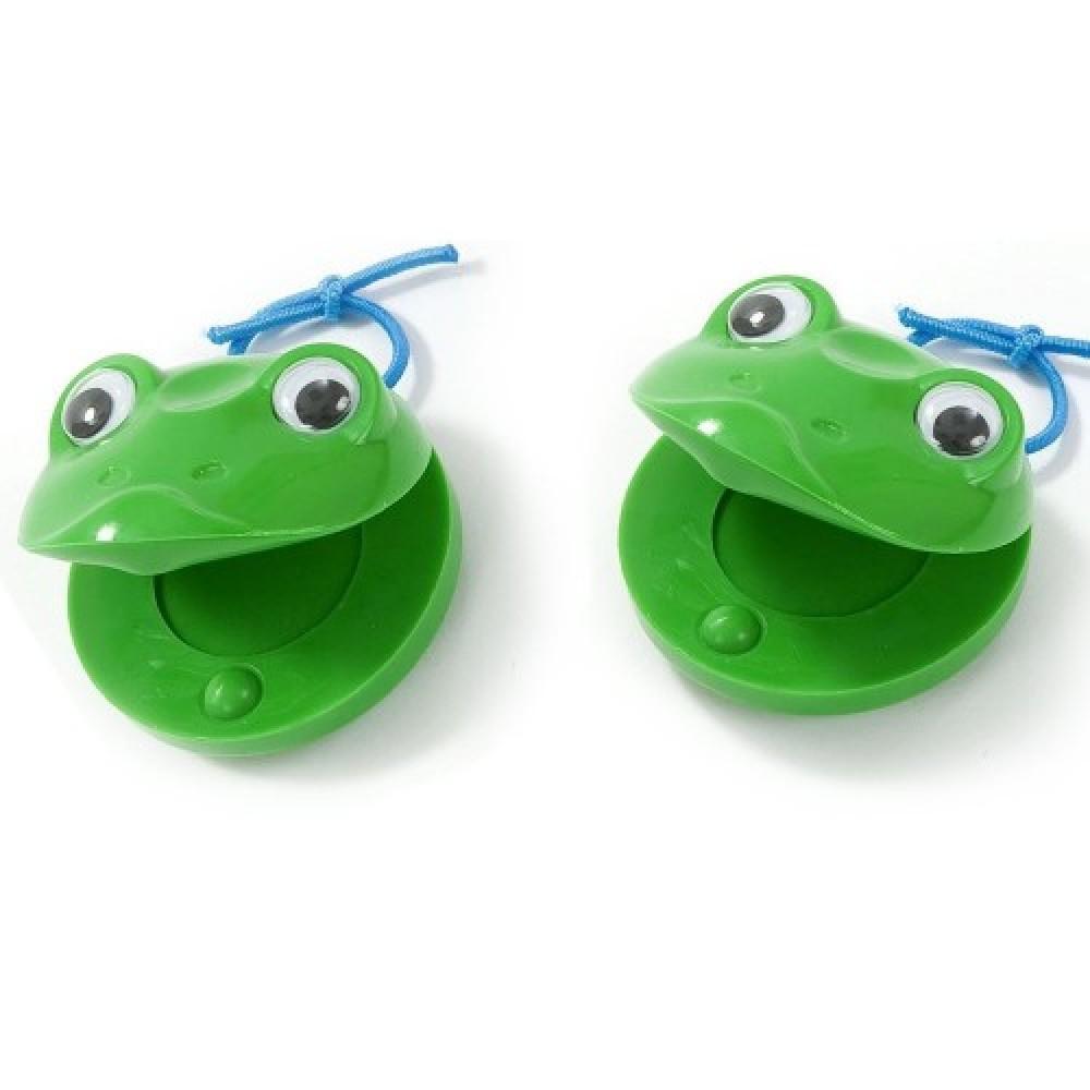זוג קסטנייטות צפרדע