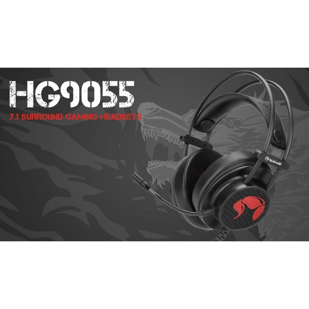 אוזניות חוטיות Marvo HG9055
