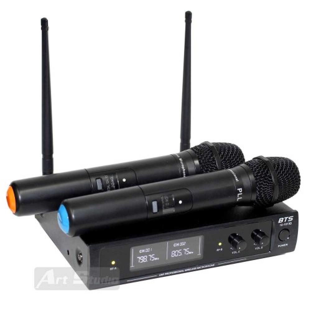 זוג מיקרופונים UHF PLL