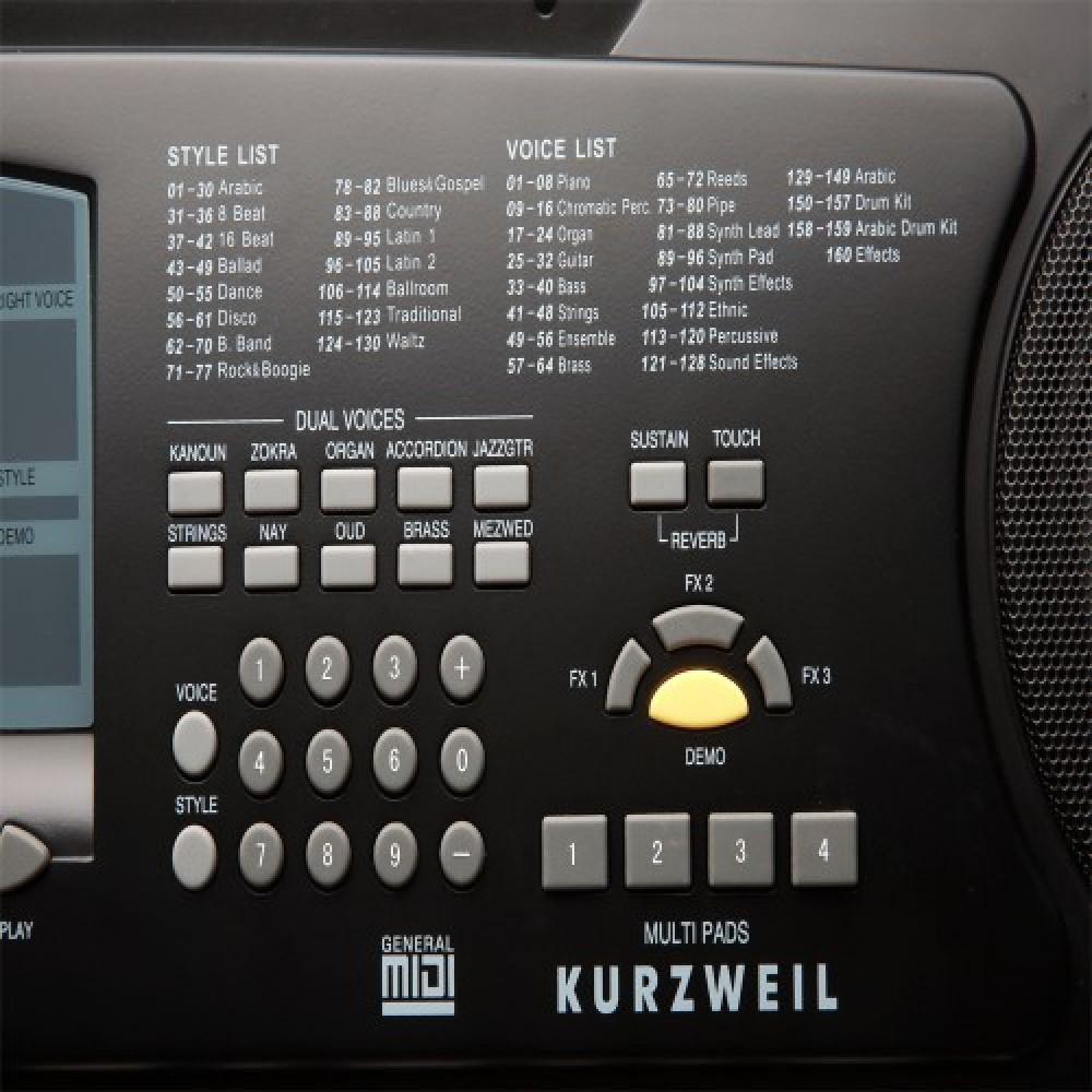 אורגן מזרחי KURZWEIL KP120A