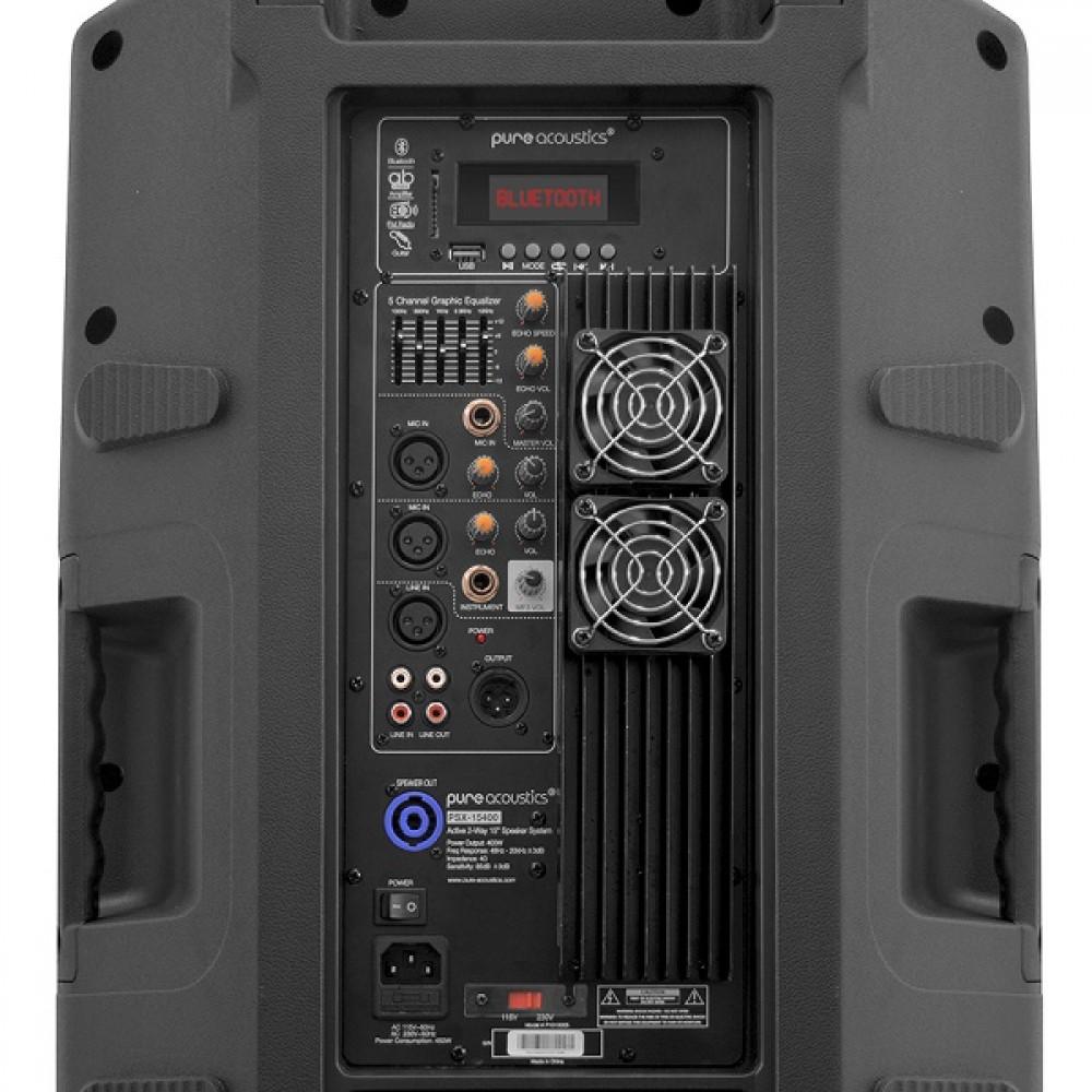 """רמקול מוגבר 15"""" Pure Acoustics PSX-15400"""