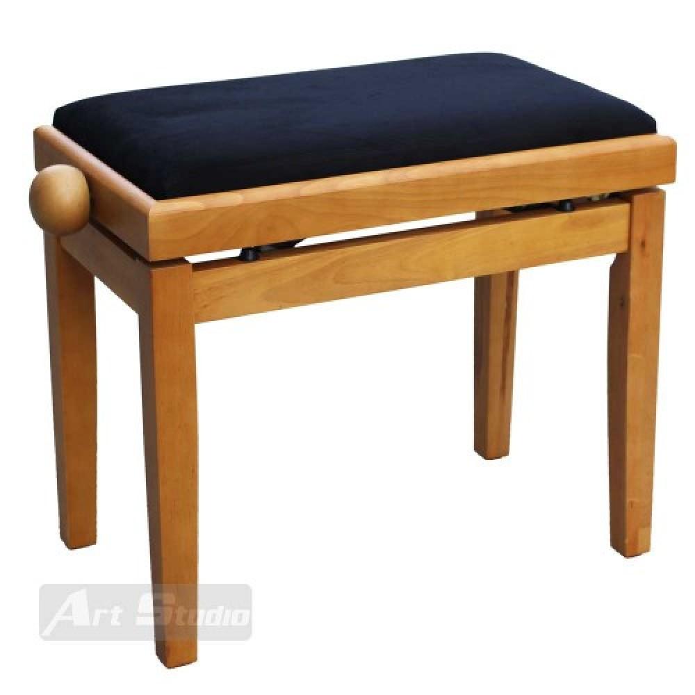 כסא לפסנתר, צבע עץ