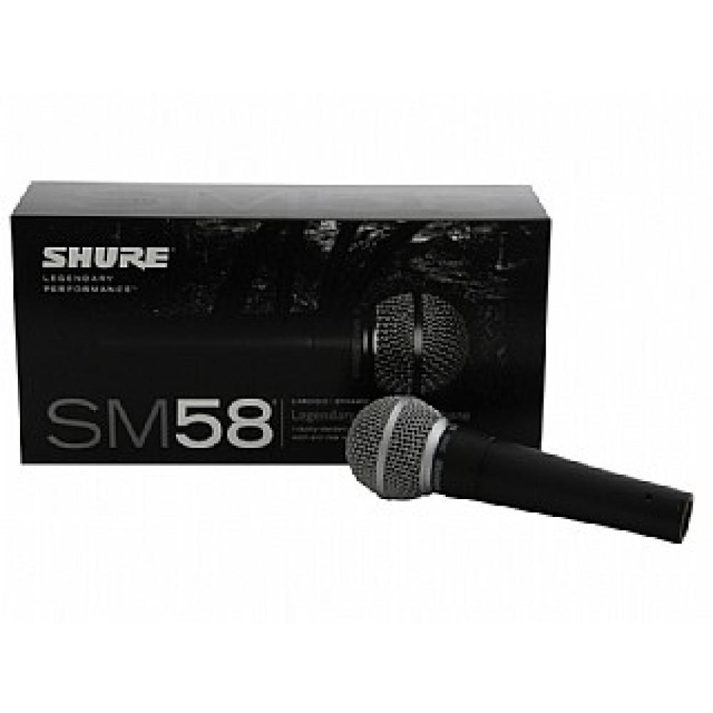 מיקרופון דינמי SHURE SM58