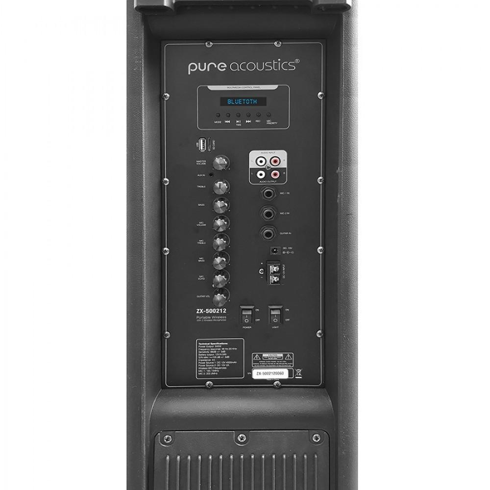 """בידורית דאבל 12"""" Pure Acoustics ZX-500212"""