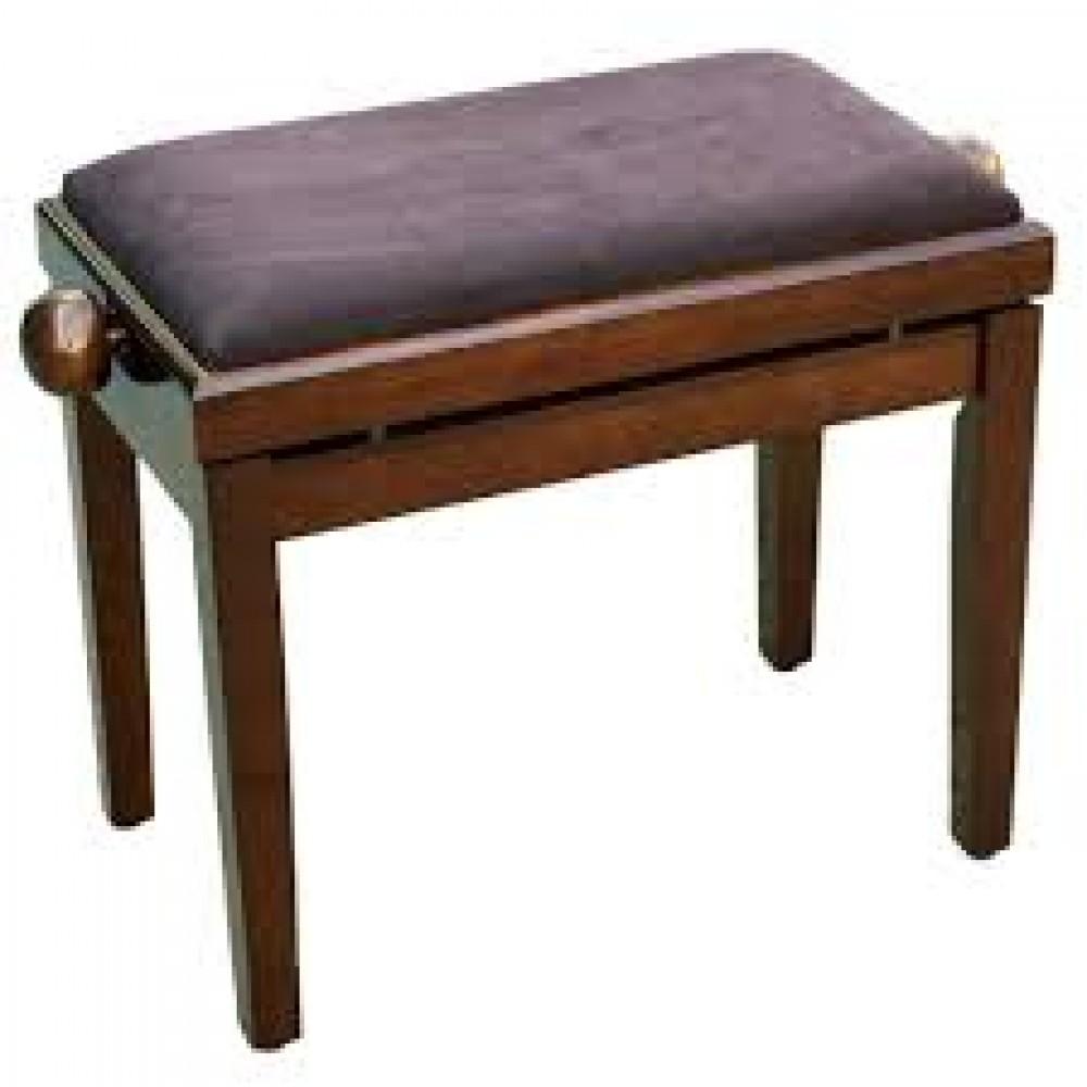 כסא לפסנתר, חום כהה