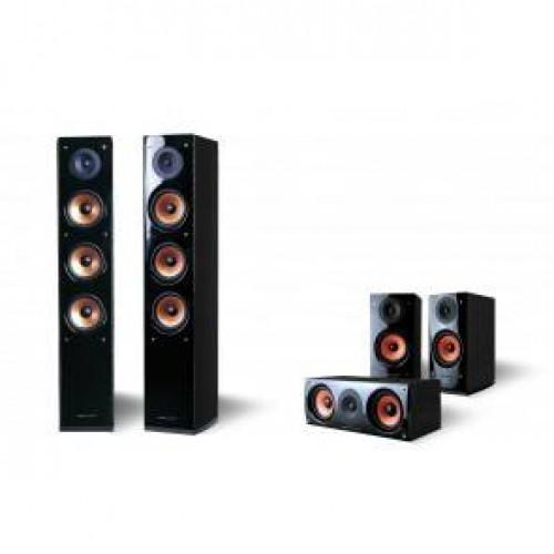 מערכת קולנוע ביתי Supernova 5 ורסיבר Pure acoustics PU-66